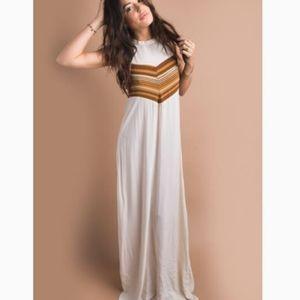 Novella Royale Moonfire Maxi Dress Small